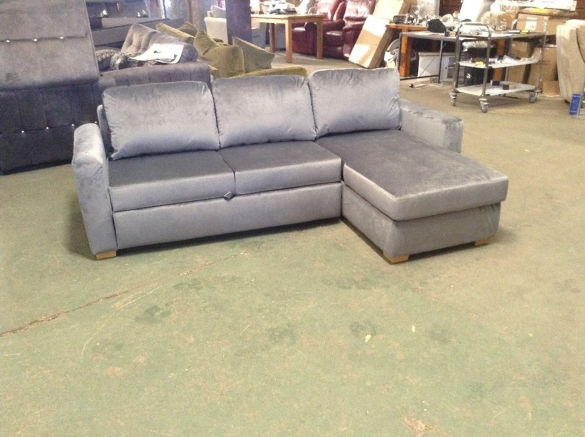 SACHA OPULENCE GRANITE SOFABED(SFL3001) (WRAPPED)