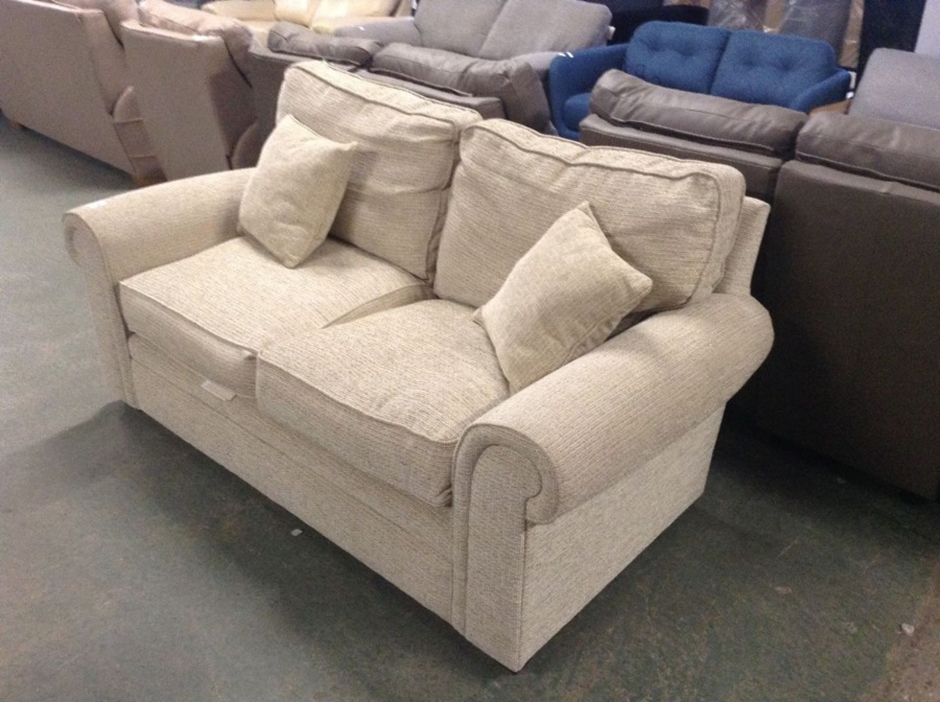 BISCUIT 2 SEATER SOFA TR002161 W00901633