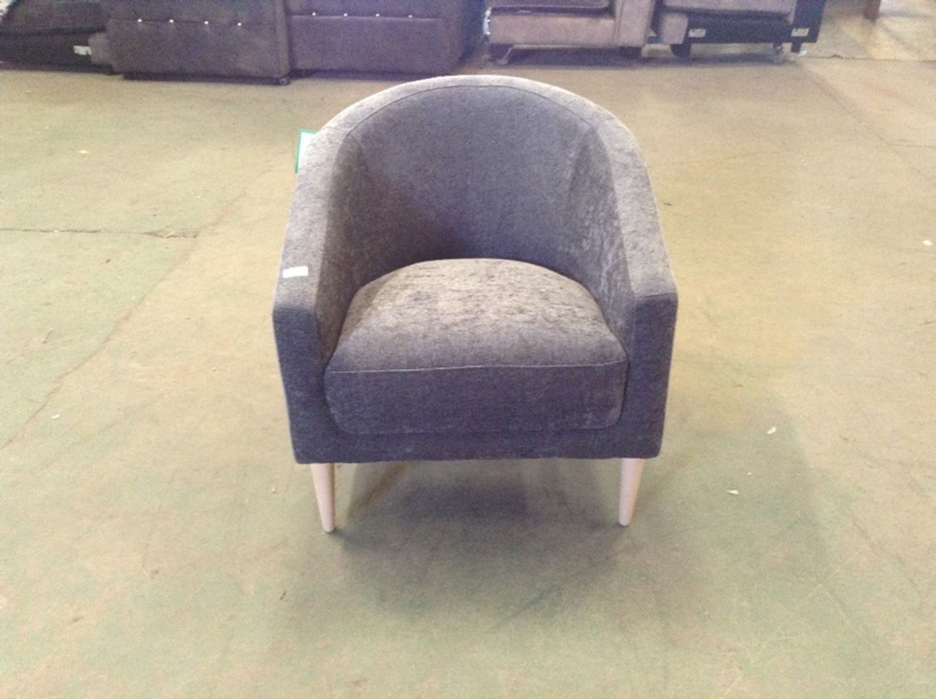 SHELL WATERFORD CHARCOAL CHAIR (SFL1243 -S523601)