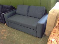 |1X|Made.com Aidian Corner Storage Sofabed Regal B