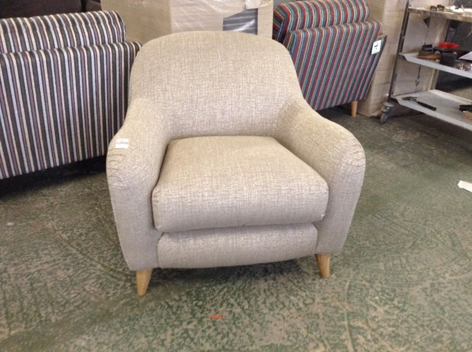 JOPLIN DARCY NATURAL GOLD CHAIR (SFL2005)