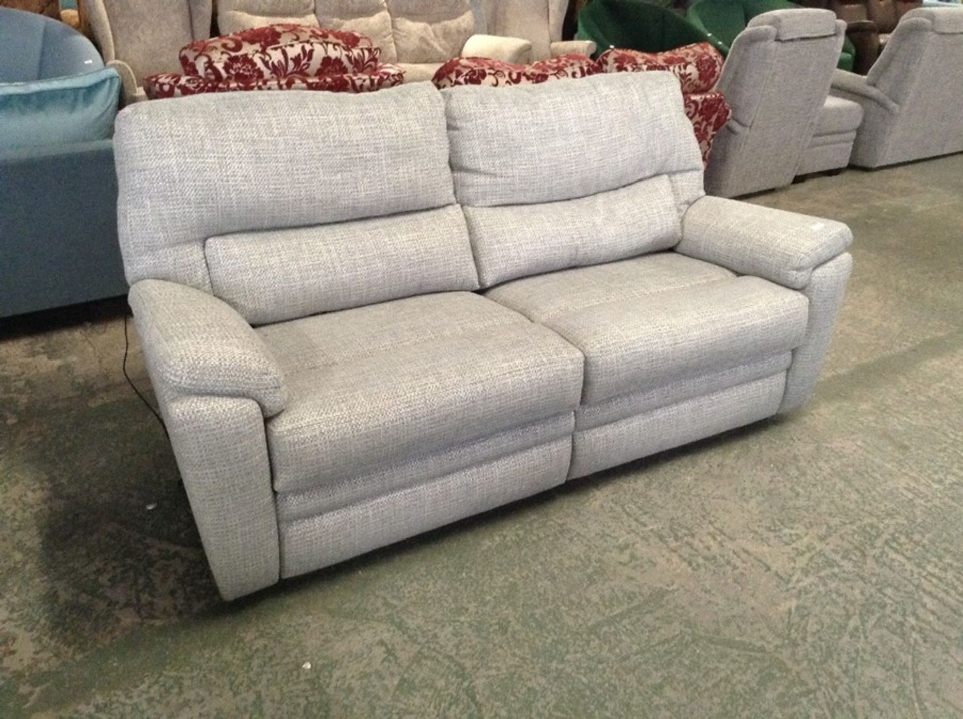 SILVER & GREEN ELECTRIC 3 SEATER TR002161 W00799825