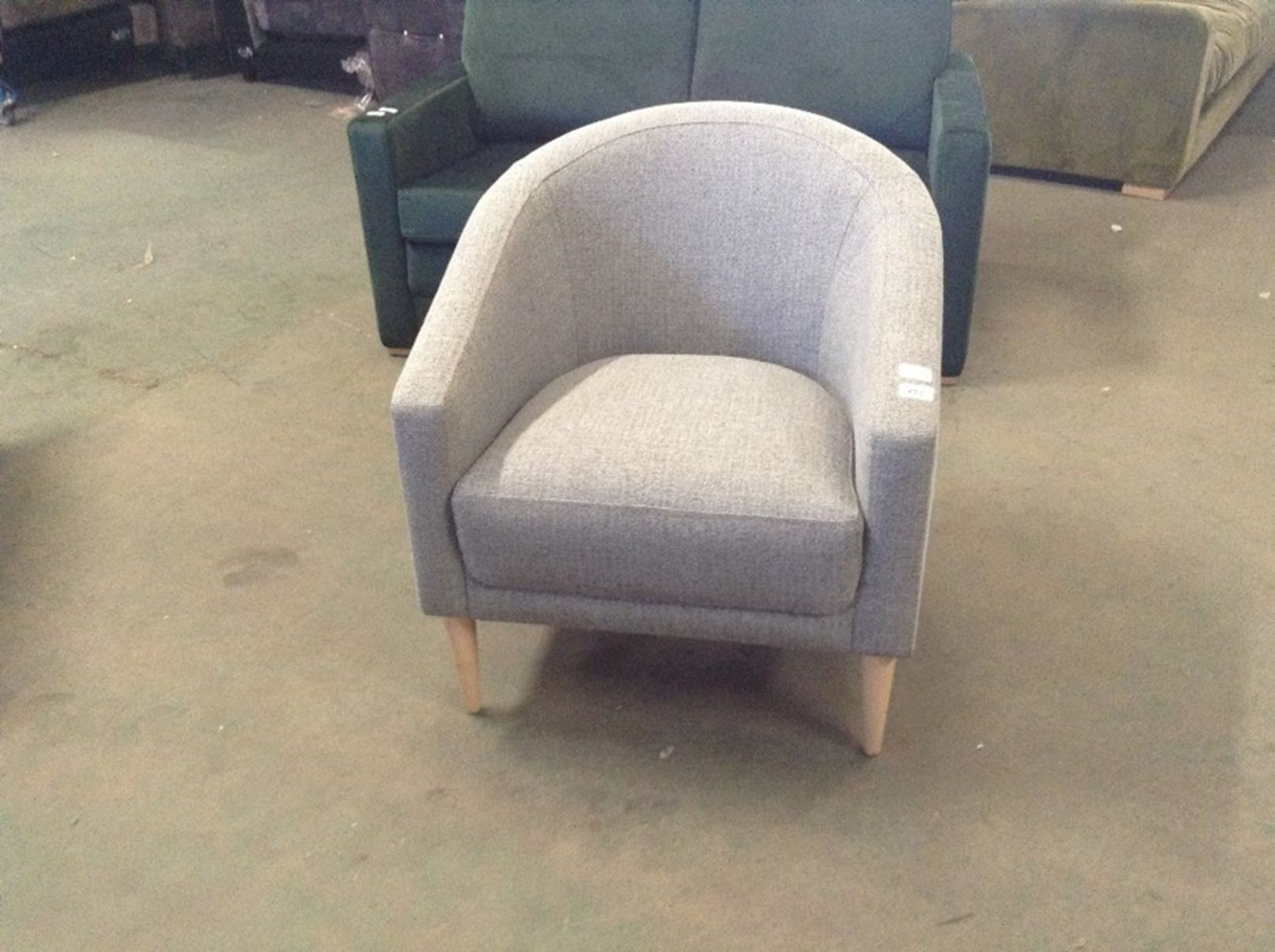 SHELL WINDSOR CHARCOAL CHAIR (SFL1242 -S523601)