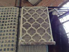 Fairmont Park Teppich Deford in Grau Teppichgröße: Rechteckig 60 x 100 cm