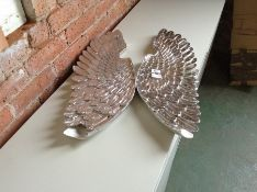 Happy Larry,2 Piece Angel Wall Décor Set RRP£79.99 (HL9 - 11/17 -MSLA1113.38765265)(damaged)