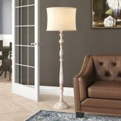 Three Posts, Aranson 133cm Traditional Floor Lamp Base (NO SHADE - BASE ONLY) - RRP £109.99 (EGF6504