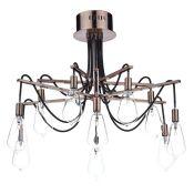 Williston Forge,Delarosa 10-Light Semi Flush MountRRP -£225.99 (DLI5451 -19090/13)-4F