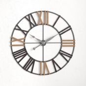 Williston Forge,Whipe Oversized Round 120cm Wall ClockRRP -£309.99 (PACH7816 -22538/17)-1 END