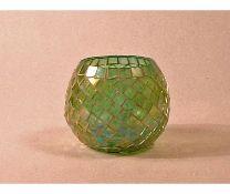 Schuller,Tulipas 10cm Glass Sphere Lamp Shade RRP - £22.54 (17474/18 -QFA1885)(GREEN) 4D