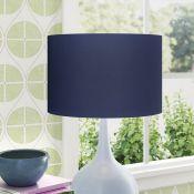 Wayfair Basics,Cotton Drum Lamp Shade RRP - £20.98 (17474/1 -GSDS1082) (ORANGE) 4C