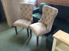 Rosalind Wheeler,Cozine Upholstered Dining Chair x 2 -291.98 (22750/1 -GVVF1005)
