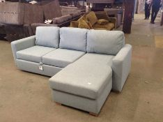 SACHA MATILDA TEAL SOFABED(SFL3015) (WRAPPED)