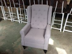 Three Posts,Afton Wingback Chair RRP -£319.99 (226