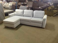 SACHA OPULENCE BABY BLUE SOFABED(SFL3012) (WRAPPED
