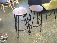Trent Austin Design,Palmdale Counter and Bar Stool (Set of 2) RRP - £56.99 (23039/11 -U002056746)