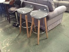 Mercury Row,Cholet Height Adjustable Swivel Bar Stool X 2RRP - £88.99 (23155/5 -DQZ10083)