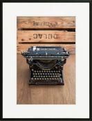 East Uraban Home , Type Writer 2' Laurence David Framed Photographic Print - RRP £86.99 (