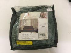 17 Stories, Checks Spandex Jacquard Box Cushion Sofa Slipcover (GREEN) - RRP £50.99 (CVBL1031 -