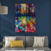 East Urban Home, Mile End Woods by Doug Eaton - Painting on Canvas - RRP £33.99 (APET3053 - 18762/