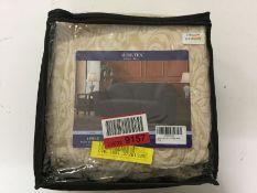 Astoria Grand, Damask Printed Stretch Box Cushion Loveseat Slipcover (BEIGE) - RRP £50.99 (