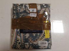 Bedeck of Belfast, Harita Pillowcase X2 PACKS (SOFT TEAL) - RRP £40 (BDKT1169 - HL9 - 8/57) 1G