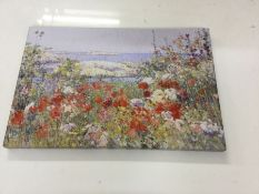 Big Box Art, 'Celia Thaxter's Garden' by Childe Hassam Painting Print on Canvas - RRP £40.99 (