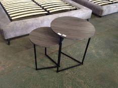 Mercury Row,Abbotsford Feickert 2 Piece Nest of Tables RRP£84.99 (HL9 - 2/17 -BLEL4758.45836302)