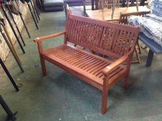 Dakota Fields ,Mayela Wooden Bench RRP -£289.99 (23093/6 -ROWL1094)