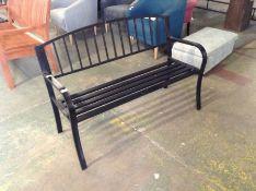 Dakota Fields,Zareh Steel Traditional Bench RRP - £106.99 (23202/18 -VDBA3904)