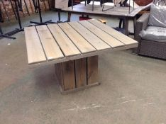 Dakota Fields,Belvedere Wooden Dining Table RRP - £399.99 (23187/8 -SNSX1055)