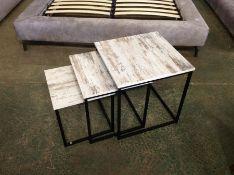 Brayden Studio,Provenzano 3 Piece Nest of Tables RRP£95.99 (HL9 - 2/14 -BLEL5888.49193291)