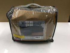 JACQUARD BOX CUSHION SOFA SLIPCOVER (GREY) (CVBL1102 - H16053 - 1/26) 8F