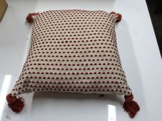 BROKAW CUSHION WITH FILLING (RED CLAY) (RFZS1028 - HL9 - 15/49) 1D