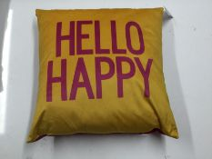 CUSH HELLO HAPPY SIZE ( 50X50 ) (NX2 - 10) - 7B