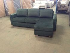 SACHA OPULENCE BOTTLE GREEN SOFABED(SFL3007) (WRAP