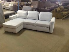 SACHA OPULENCE BABY BLUE SOFABED(SFL3014)