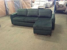SACHA OPULENCE BOTTLE GREEN SOFABED(SFL3006) (WRAP