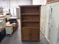 Winchester Oak Large Bookcase (B/6 -CO-LBC)
