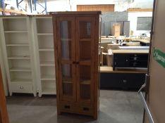 Winchester Oak Display Cabinet (B/133 -CO-DIS)(DAMAGED)