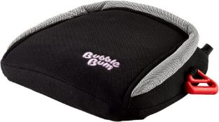 BubbleBum Inflatable Car Booster Seat – Group 2/3 - Slim, Backless, Portable, Foldable Travel