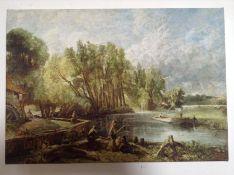 East Urban Home, John Constable - Art Prints on Canvas (SMALL) - RRP £32.99 (MGBX1403 - 14011/6) 1F