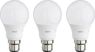 OSRAM LED BASE CLASSIC A / LED lamp, classic bulb shape, with bayonet base: B22d, 8.5 W, 220…240