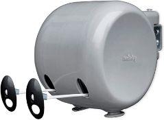 Minky Retractable Duo Reel Washing Line, Grey - RRP £14.24 (AMO030821 - 13 - 92 - LPNWE066637012)