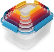 Joseph Joseph Nest Lock 5-Piece Storage Container Set - Multi-Colour (DENTED) - RRP £26.99 (