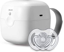 Nuby UV Dummy Steriliser, No Water, Chemicals, Cooling or Drying Required. Kills 99.9% of Germs,