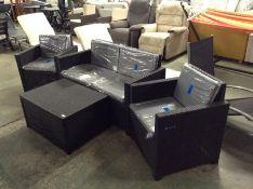 Keter,4 Seater Rattan Effect Sofa Set RRP -£529.99