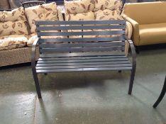 Dakota Fields,Eytan Steel Park Bench RRP -£85.99 (