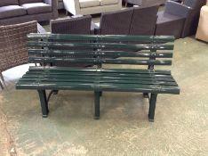 Dakota Fields,Garden Bench RRP -£84.99 (23593/7 -NFR)