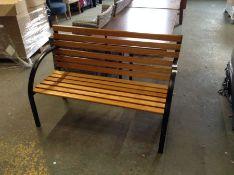 Dakota Fields,Steel Bench RRP -£107.99 (23577/10 -