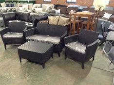Keter,Salemo 4 Seater Corner Sofa Set RRP -£559.99